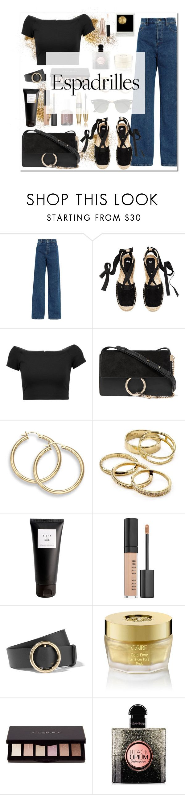 """""""Untitled #203"""" by onmytoesforalex ❤ liked on Polyvore featuring Y/Project, Alice + Olivia, Chloé, Kendra Scott, Eight & Bob, Bobbi Brown Cosmetics, Pippa, Victoria's Secret, Frame and Oribe"""