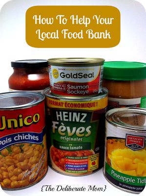 How To Help Your Local Food Bank - Tips to keep in mind so your donation can have greater impact.