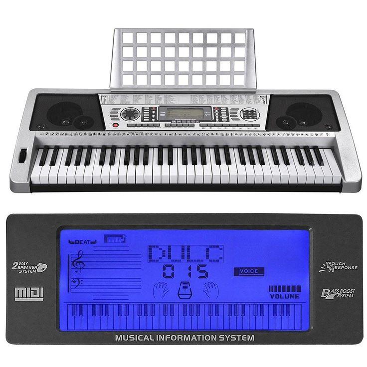 Music Electronic Keyboard 61 Keys Portable Piano MK939