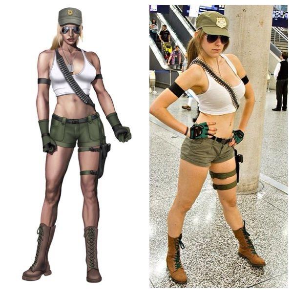 Sonya Blade MK9  http://www.reddit.com/user/talia_badalia