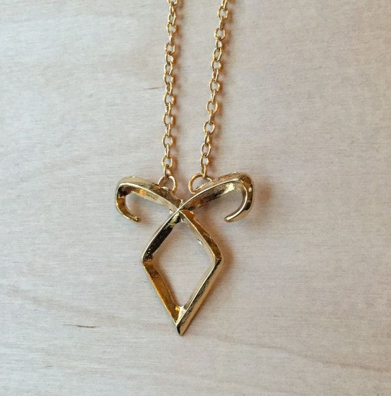 Angelic Power Rune Necklace The Mortal Instruments by TinkerHome