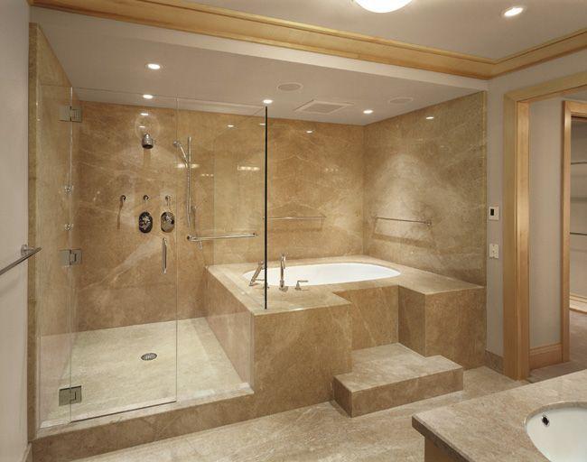 Creamshower Marble Slab Polished Beige Italy Bathroom Hi Badezimmer Beige Kleine Badezimmer Design Luxusbadezimmer