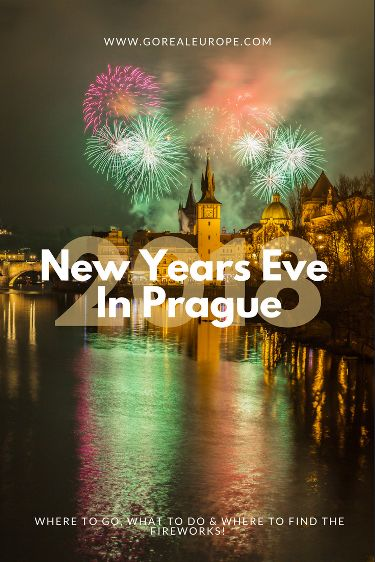 Where to Spend New Year's Eve in Prague 2017/2018 | Go Real Europe