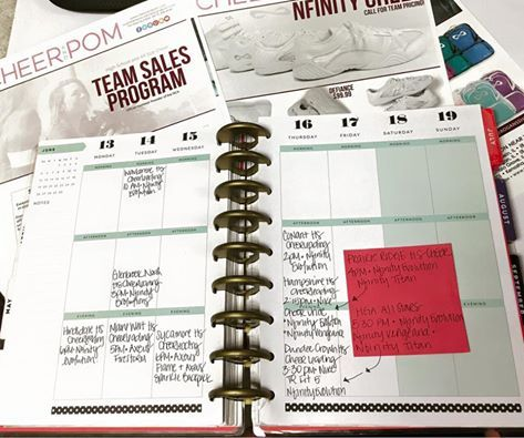 Be an Organized cheer coach with a DIY Coaching Binder