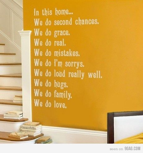 : Wall Decor, Cute Ideas, Wall Decals, Menu, Wall Quotes, Homes, Houses Rules, Families Rules, Families Mottos