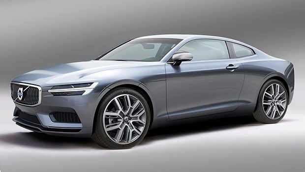 This is what the Volvo C90 might look like