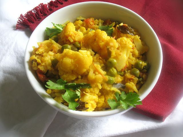 158 best vegetarian thanksgiving menu ideas images on pinterest red lentil and cauliflower tomato pulao colorful nourishing and delicious rice with red lentils forumfinder Choice Image