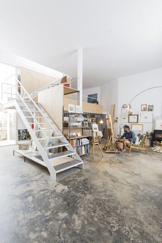 Estúdio de um artista, projeto de DTR Studio Architects