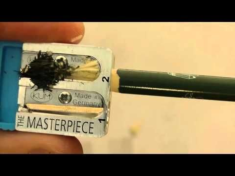 David Rees and Blackwing Pencils: Artisanal Pencil Sharpening - YouTube