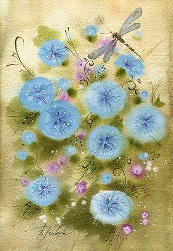 цветы для стрекозы (Виктория Кирдий)