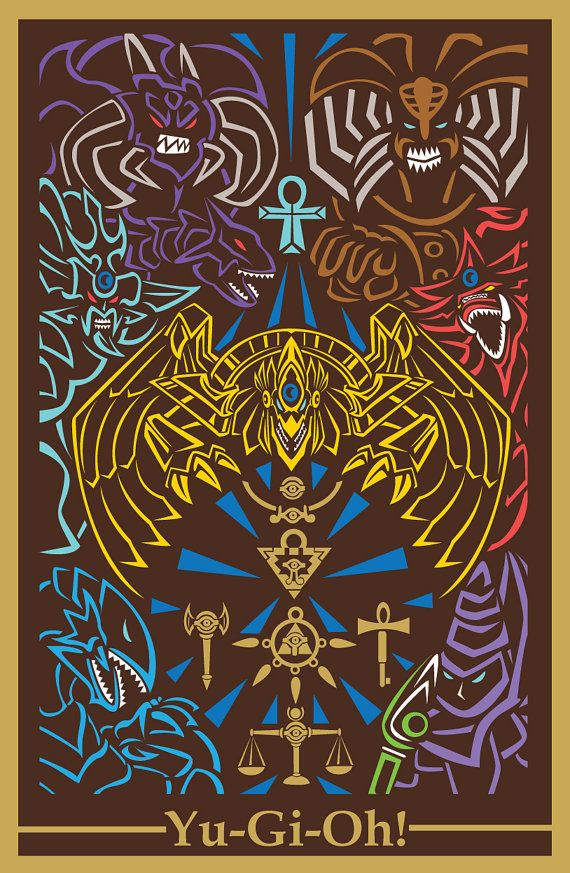 Dibujo dioses egipcios