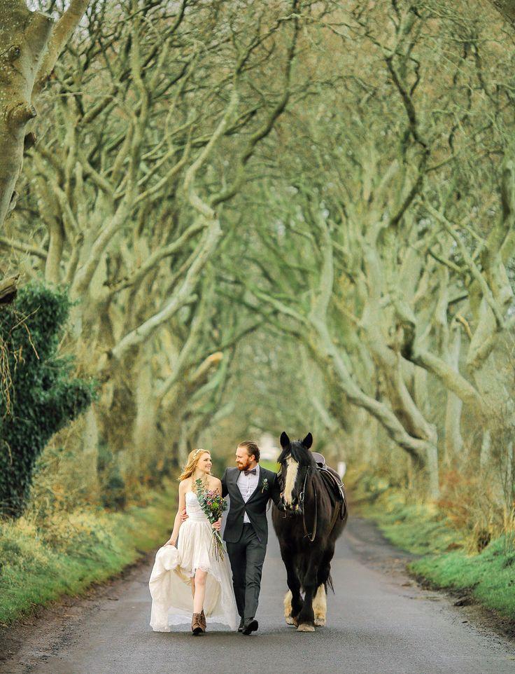 interesting wedding venues ireland%0A Elopement Inspiration at an Irish Castle