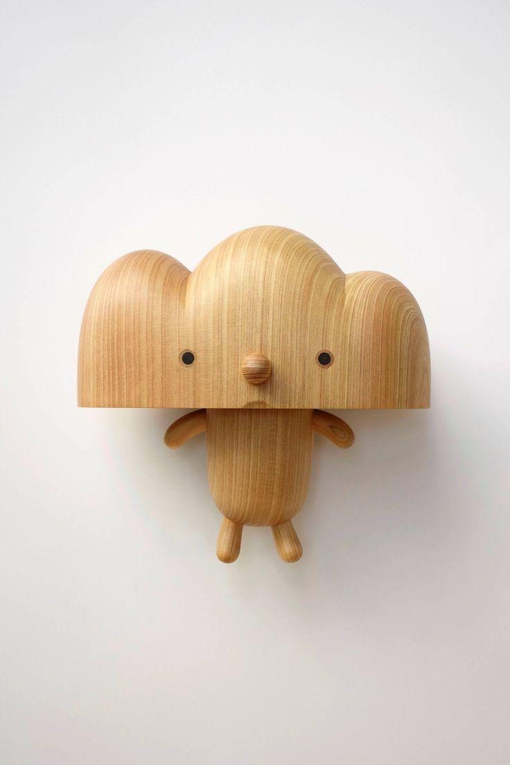 Wooden Cloud Man