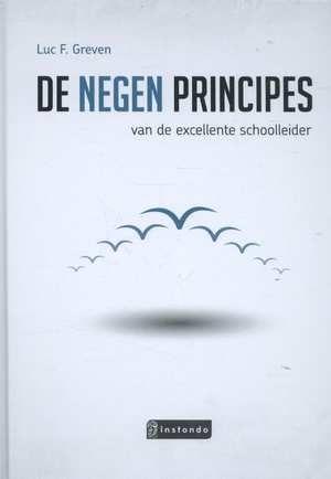 De negen principes van de excellente schoolleider (2015) Auteur: Luc Greven