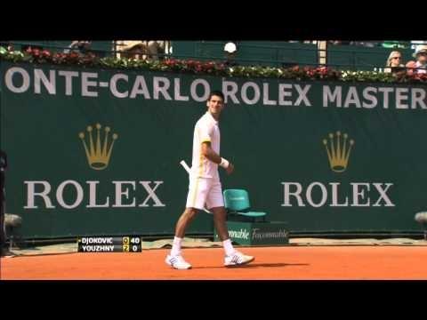 Watch Djokovic Wednesday Monte-Carlo Hot Shot