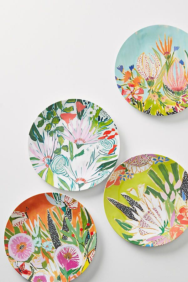 Slide View: 2: Jardiniere Melamine Dinner Plate