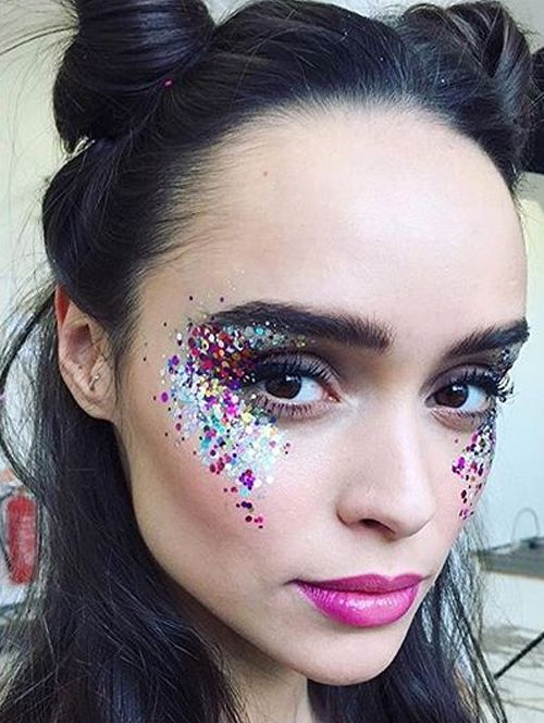 Beauty & Health Eye Shadow 1 Bottle Mermaid Sequins Gel Glitter Eyeshadow Fashion Eyes Makeup Cosmetic Mixed Paillette Universal Face Body Hair Glitter Gel