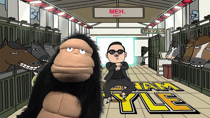 """GORILLA - GANGNAM STYLE Ft. Ricky Martin - """"Glove and Boots"""" style... LOL!!!!"""
