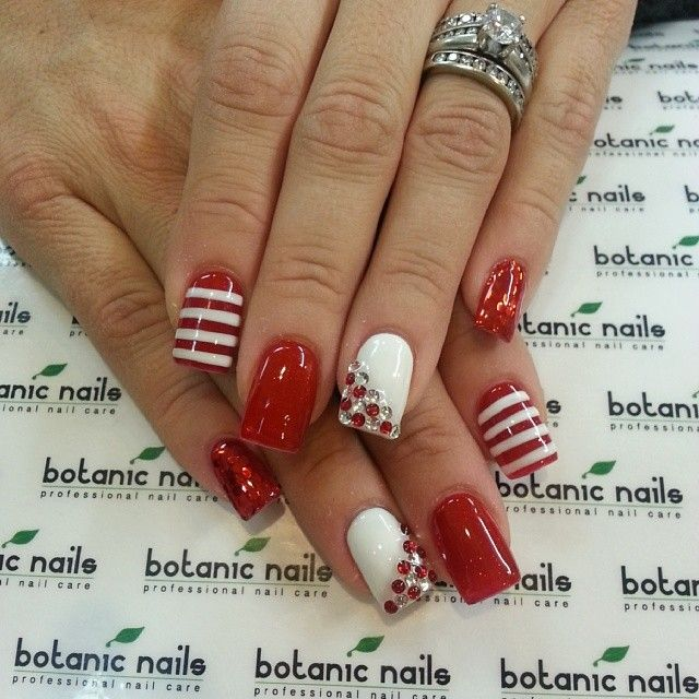 Instagram photo by botanicnails #nail #nails #nailart. Valentine Nail  DesignsRed ... - 108 Best Nail Designs Images On Pinterest Make Up, Pretty Nails