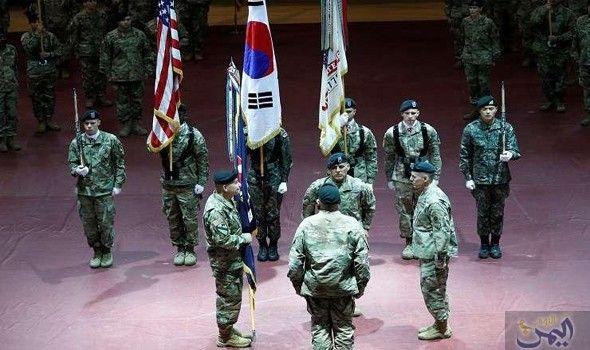 ترامب يرغب في خروج جيشه من كوريا الجنوبية Us Army Pentagon Army