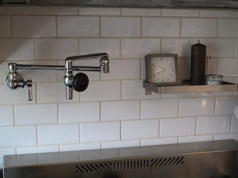 Chicago Pot filler/Chicago Faucets 515CP Kitchen Collection  $224. Faucet.com