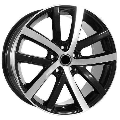 18 Inch Black Rims Volkswagen VW Wheels EOS Jetta GTI Golf CC Rabbitt UsaRim http://www.amazon.com/dp/B007W61L58/ref=cm_sw_r_pi_dp_RPJhub0AM17PH