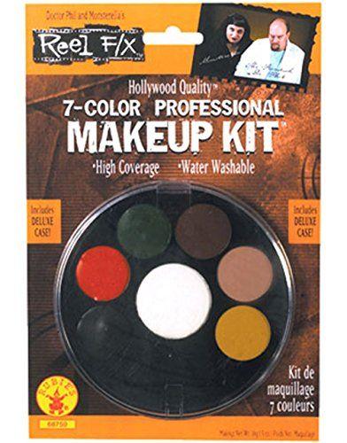 7 Color Professional Makeup Kit Reel F/X Halloween Costume Makeup Order at Promakeuptutor.com #discounts #makeup #makeupforever #promakeuptutor #makeupgeek #sale #sales  #shopping #shoppingonline