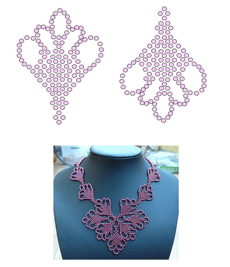 Perles Dent' Elles - Collective Blog of Creative Activities Pearl Lace featured in recent Bead-Patterns Newsletter!
