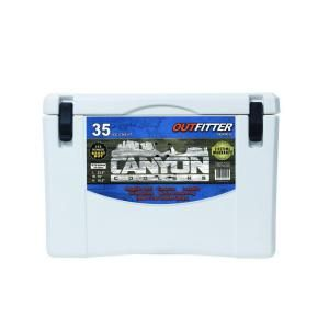 Canyon Coolers, 35 Qt. White Cooler, X35W at The Home Depot - Mobile