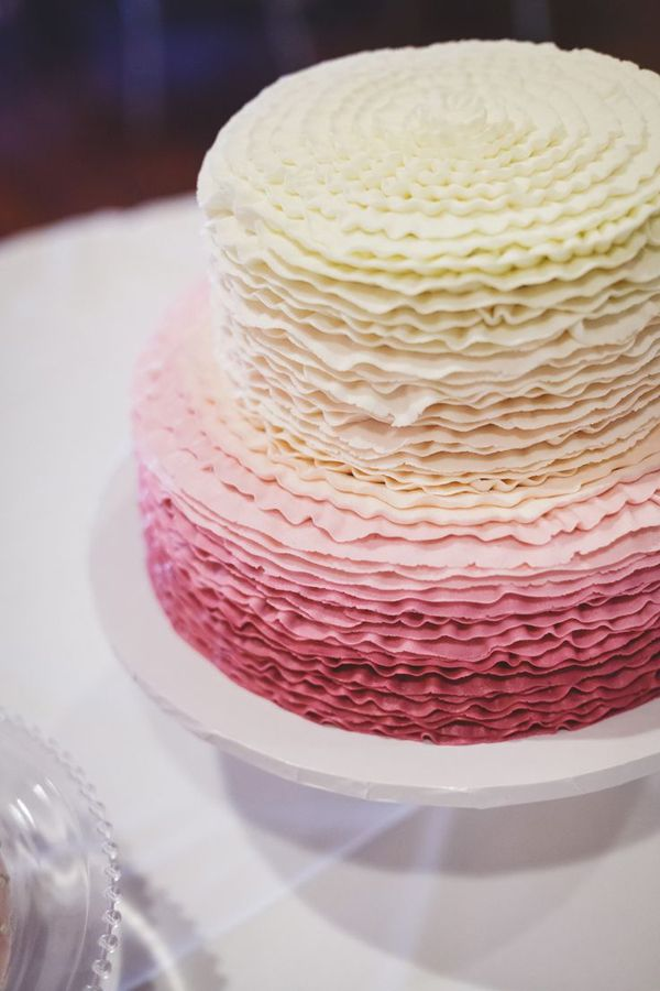 Pink Ombre Wedding Cake def not