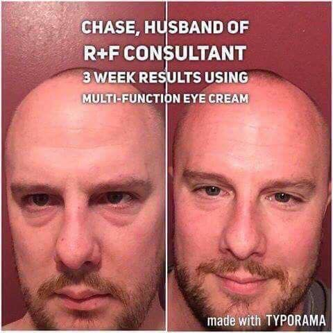 absolutely NO shame in Chase's game! Our Multi Function Eye Cream is used by men and women alike...all want to address dark circles, puffy eyes and under eye bags. Pair ou reye cream with Redefine Eye Cloths and you've got a crows feet/wrinkle fighter in your hands every time you wipe your face from the days grime. Are you ready to see what we keep talking about? Let's chat!
