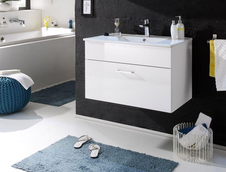 Die besten 25+ Waschbeckenunterschrank holz Ideen auf Pinterest - badezimmerschrank mit waschbecken
