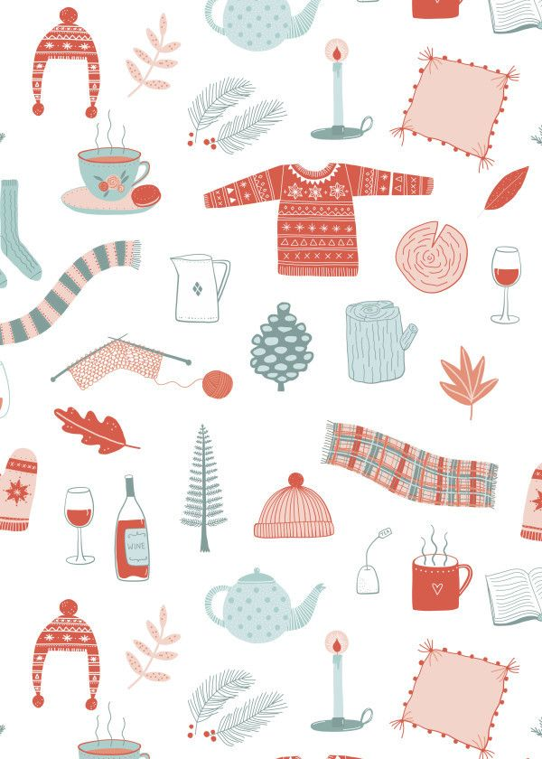 Hygge Cosy Things Metal Poster Print Nic Squirrell Displate Wallpaper Iphone Christmas Christmas Phone Wallpaper Christmas Wallpaper