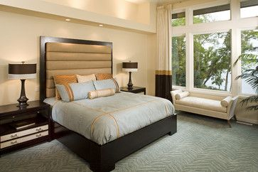 Masterful Suite contemporary bedroom