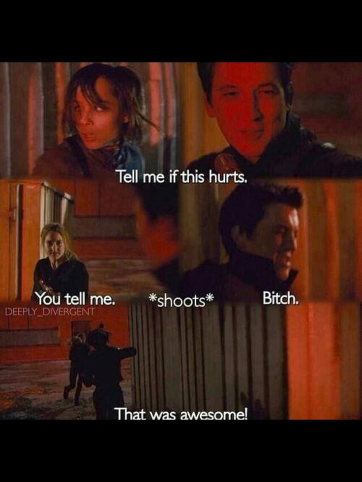 Awesome scene from Divergent!
