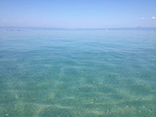 "When we say ""Sea"" we mean this!  Καλημέρα!  Good morning!  Guten morgen!  доб..."