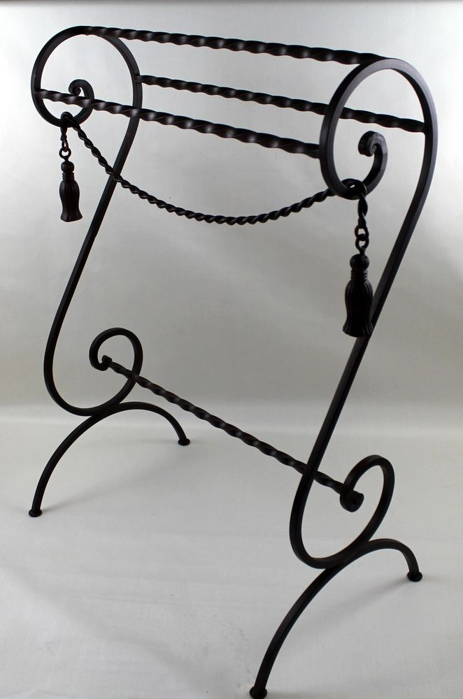 Enclume® Decor Wall Scroll Rack : Images about metal work art on iron