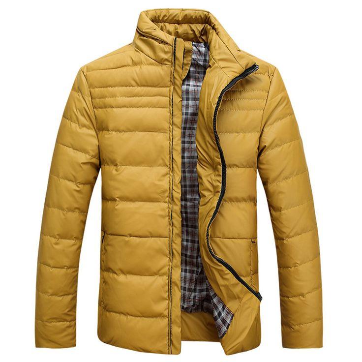 Men Casual Down High Quality White Duck Down Thicken Winter Jacket Men Down Parka Warm Chaquetas De Plumas Para Hombres