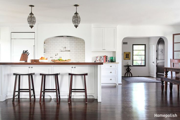La Habra Heights - New and vintage furnishings make this Spanish Revival feel like home @Homepolish LA
