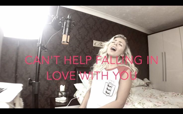 Elvis Presley   Can't Help Falling In Love With You   Cover   Samantha Harvey   - YouTube