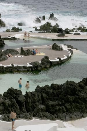 natural pools - Madeira, Portugal by Eva0707