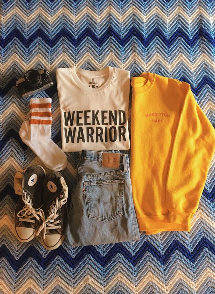 WEEKEND WARRIOR SHIRT Available in Natural Organic Cotton Available in sizes S, M, L, XL, XXL Made in the USA Unisex, Oversized fit