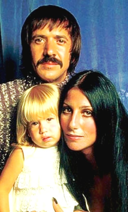 Sonny & Cher Show  with baby Chas