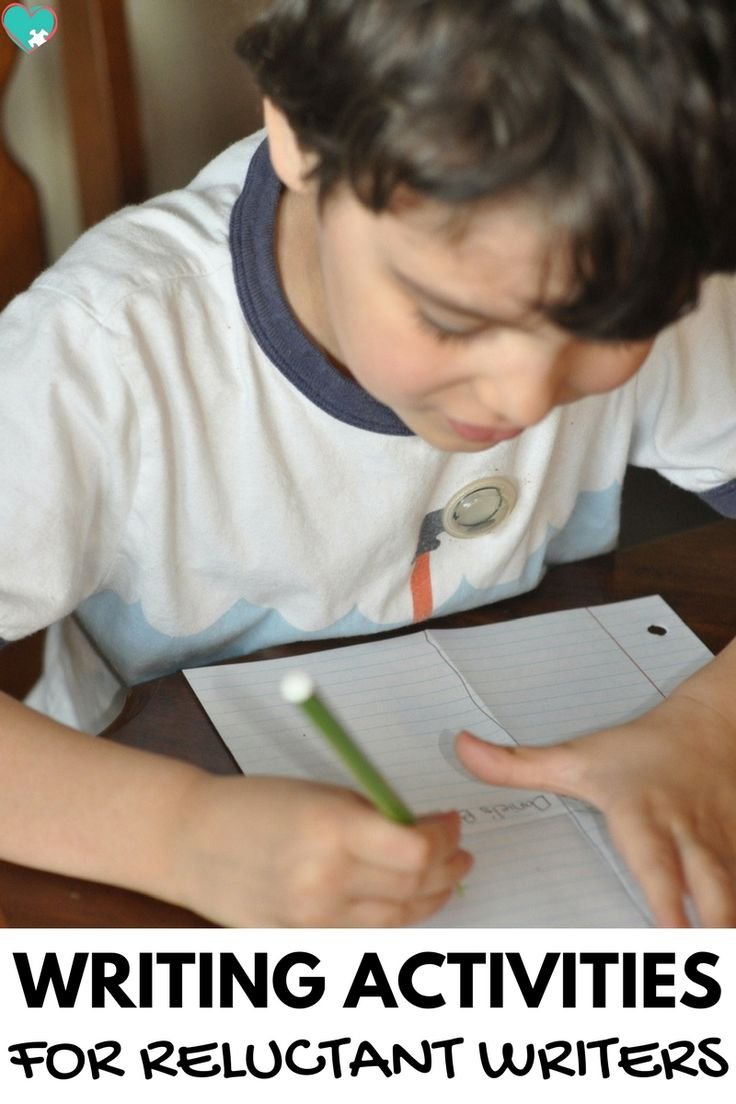 Fun and Simple Writing Activities for Reluctant