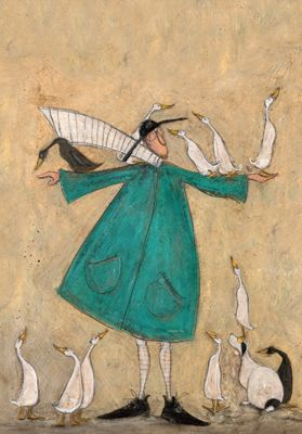 Mustard Duck Roost by Sam Toft