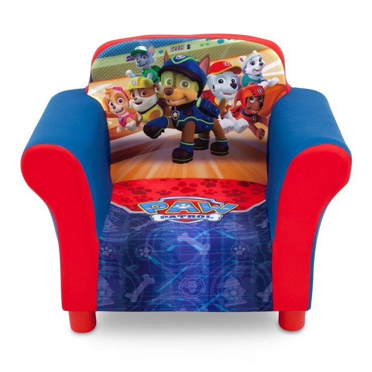 Nick Jr. Paw Patrol Upholstered Chair,