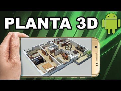 Como Criar Planta De Casa 2d E 3d No Celular Youtube Plantas