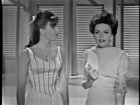 Liza Minnelli and Judy Garland