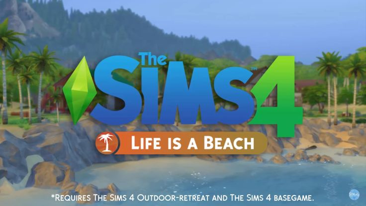 The Sims 4 Life is a Beach (Mod) ~ Nathys Sims