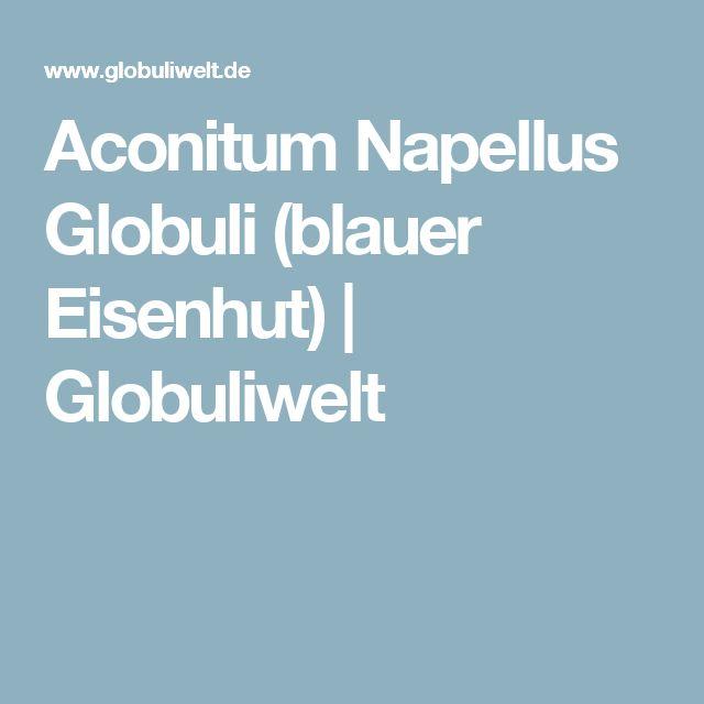 Aconitum Napellus Globuli (blauer Eisenhut)   Globuliwelt